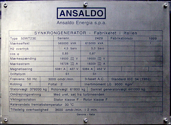 Synkrongenerator