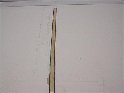 Trække ledninger i væg