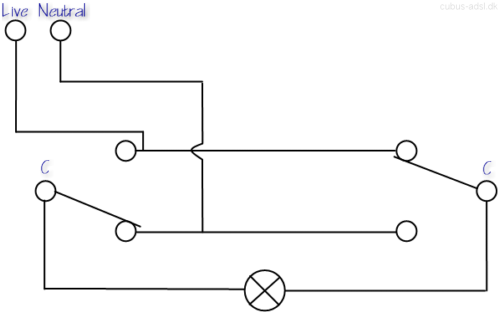 2 Way Switch Circuit - Schematics Wiring Diagrams •